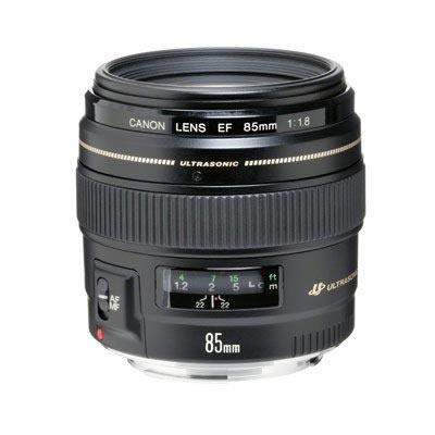Mieten Sie bei uns in Mannheim das Canon Objektiv 85mm mit EF Mount.