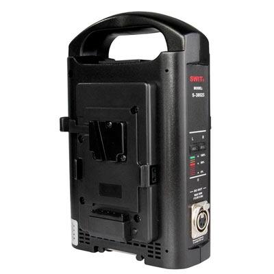 Bei uns können Sie das Swit S-3802S Dual Ladegerät für V-Mount Akkus leihen.