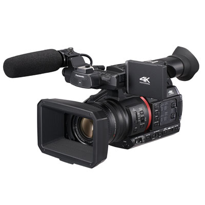 Mieten Sie die Panasonic AG-CX350 im Kameraverleih Mannheim.