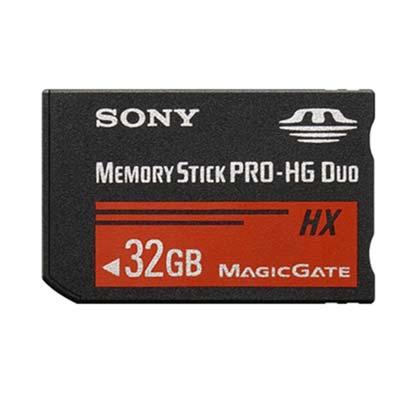 Bei uns können Sie den Sony Memory Stick PRO-HG Duo HX 32GB mieten.