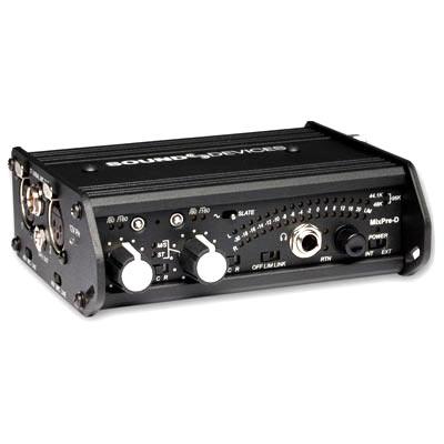 Bei uns können Sie einen Sound Devices EB Mischer mieten, um perfekte Tonaufnahmen zu generieren.