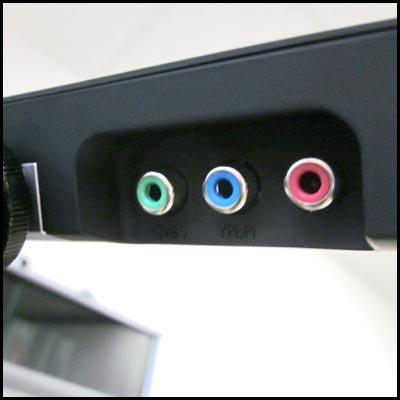 Komponenten Eingang Vorschaumonitor